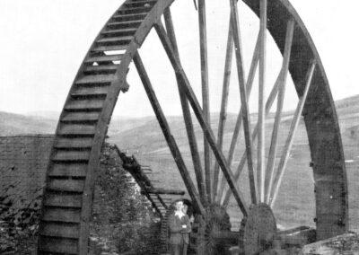 1948 Llywernog Wheel - D Bick